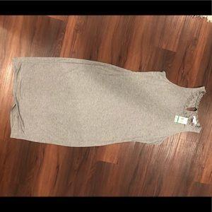 NWT Comfy cute grey dress